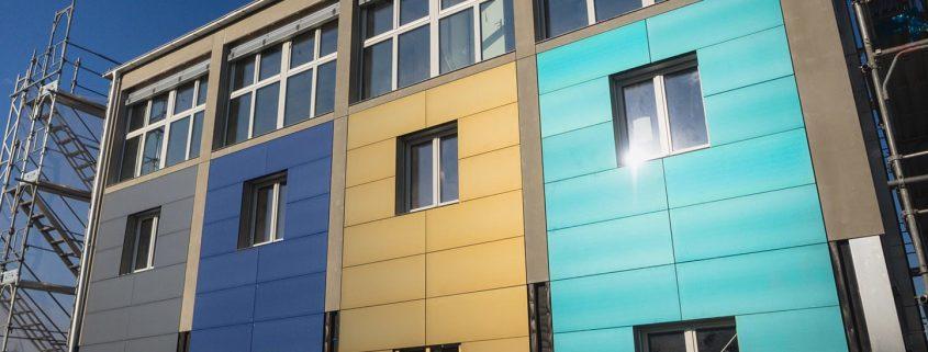 رنگ نانو نمای ساختمان